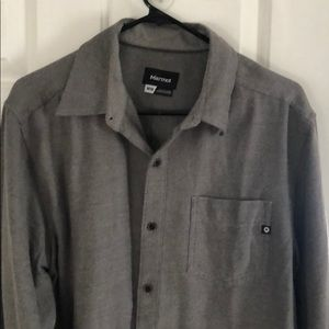 Marmot button down shirt size Medium